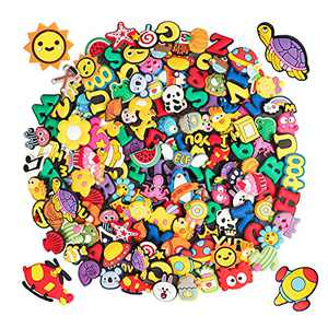 100pcs PVC Shoe Charms for Shoe Decoration and Boys Girls Party Favors Birthday Gifts