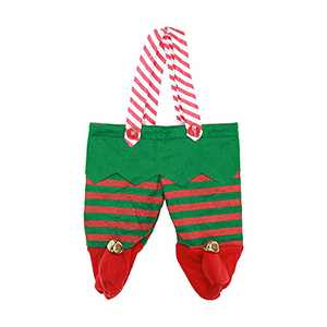 Drawstring Christmas Bags, 3D Xmas Gift Bags, Christmas Wrapping Bags, Xmas Goodie Bags, Red Treat Pouch Bags,Party Favor Bags (C)