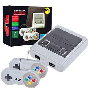 LIFTREN Classic Handheld Game Console,Classic Game Console Built-in 620 Game,Handheld Video Game Player Console for Family TV Vide-01