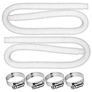 """QQCherry Pool Replacement Hose,1.25"""" Diameter Accessory 59"""" Long Pool Filter Pump Hose for Above Ground Pools, Compatible with Filter Pump 330 GPH, 530 GPH,1000 GPH"""