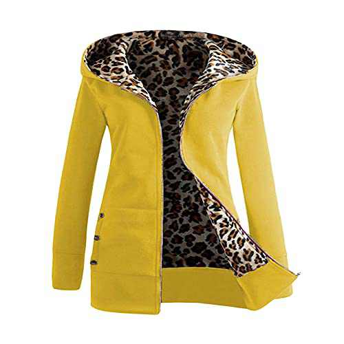 Womens Long Sleeve Zipper Up Open Front Hooded Cardigans Jacket Coats Outwear with Pockets