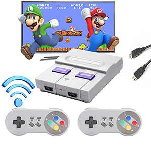 Wireless Handheld Game Console,Classic HD Game Console Built-in 821 Games, Great Birthday Gift & Children Gift-01