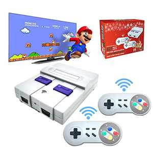 Built-in 821 Classic Childhood Games, Classic Game console, Retro Game Console, With 2 Wireless Controllers, 4K HDMI TV Output Game Consoles, The ideal Gift for Childhood Memories