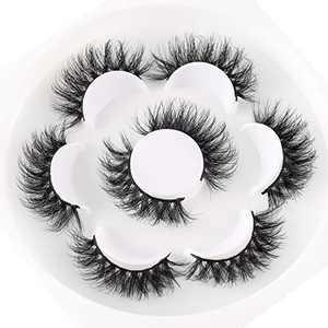 Mink Eyelashes Fluffy Mink Lashes Serbian Mink Eyelashes 4 pairs Real Mink False Eyelashes BEFACL (BF-DB)