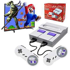 Classic Game Console Built-in 821 Games HDMI HD Output Plug and Play, Retro Mini Game Console, Classic Childhood Memories, Birthday Gifts