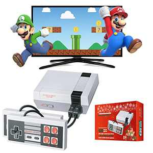 LIFTREN Plug & Play Classic Handheld Game Console, Upgrade Packaging for Christmas Classic Game Console Built-in 620 Game, Video Game Player Console for Family TV Video-001